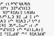 dislexia typeface