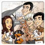 valentino_villanova_caricatura famiglia-min